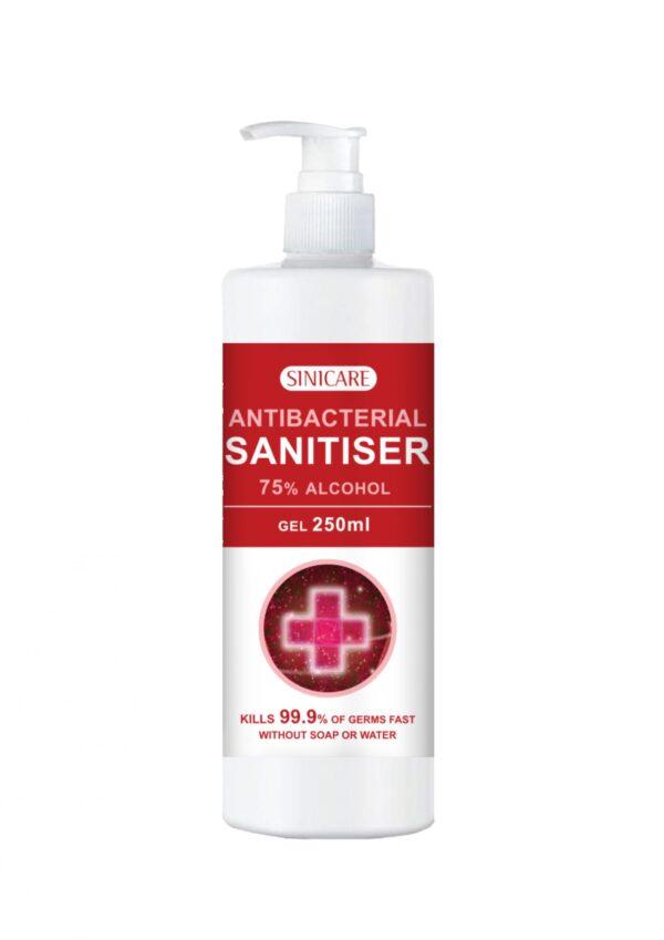 Sinicare Sanitiser 250ml Gel type
