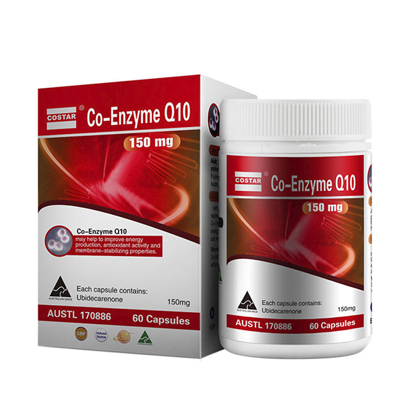(COSTAR)CO-Enzyme Q10 150mg 60s