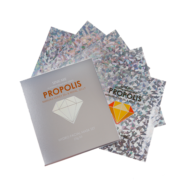 SINICARE Diamond Mask Propolis 25g (5 sheets)