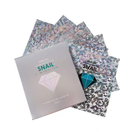SINICARE Diamond Mask Snail 25g (5 sheets)