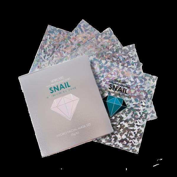 SINICARE Diamond Mask Snail 25g (5 sheets)