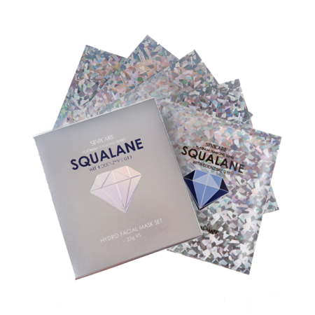 SINICARE Diamond Mask Squalane 25g (5 sheets)