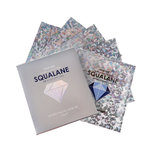 SINICARE Diamond Mask Squalane 25g (5 sheets)