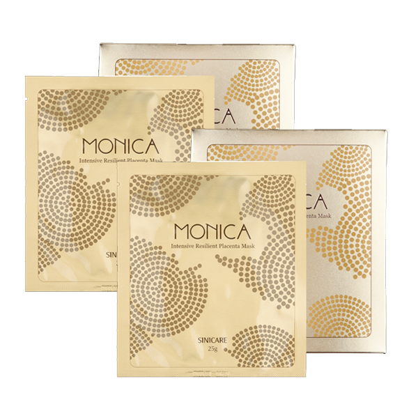 MONICA Placenta Mask 25g (5sheets) (1+1)