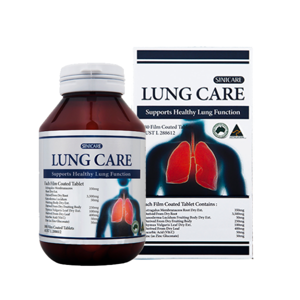 SINICARE Lung Care 180s