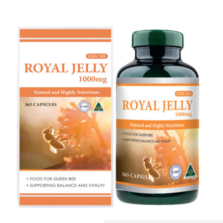 SINICARE Royal Jelly 1,000mg 365s