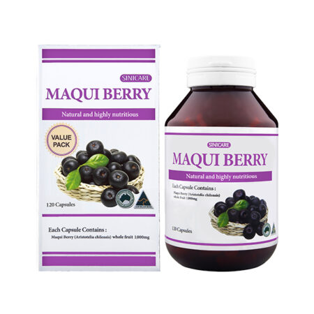 SINICARE Maqui berry 1000mg 120s