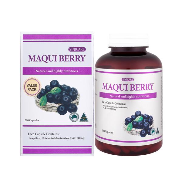 SINICARE Maqui berry 1000mg 200s