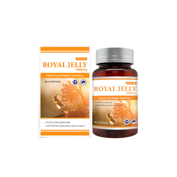 SINICARE Royal Jelly 1000mg 40s